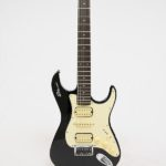 Stewart Guitars Stow-Away Black Cream connected front