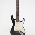 Stewart Guitars Stow-Away Black Pearl connected front
