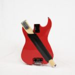 Stewart Guitars Stow-Away Red, collapsed back